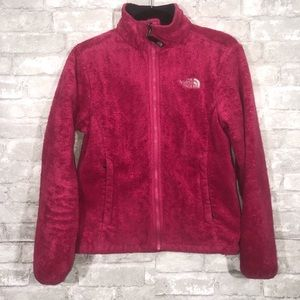 Women's Pink The North Face Fleece Size Small